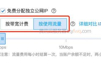 腾讯云服务器按流量计费1G流量价格(收费标准)