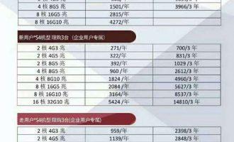 腾讯云服务器双十一价格表(新用户/老用户/个人/企业)